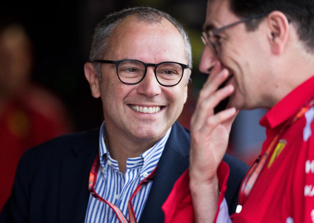 Stefano Domenicali Formula 1 CEO
