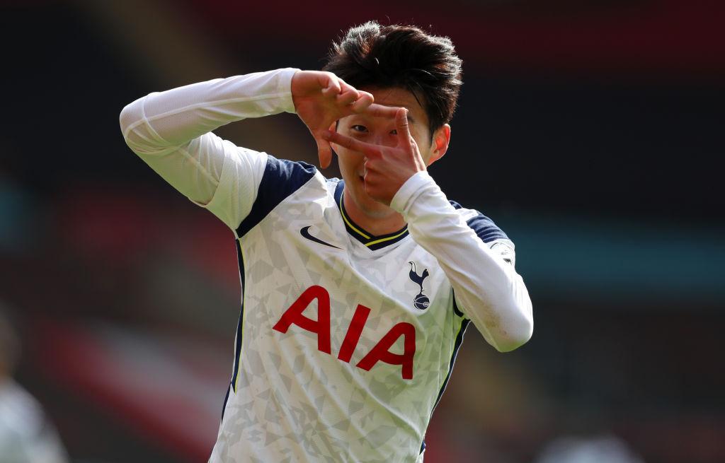 Heung Min Son Tottenham Twitter