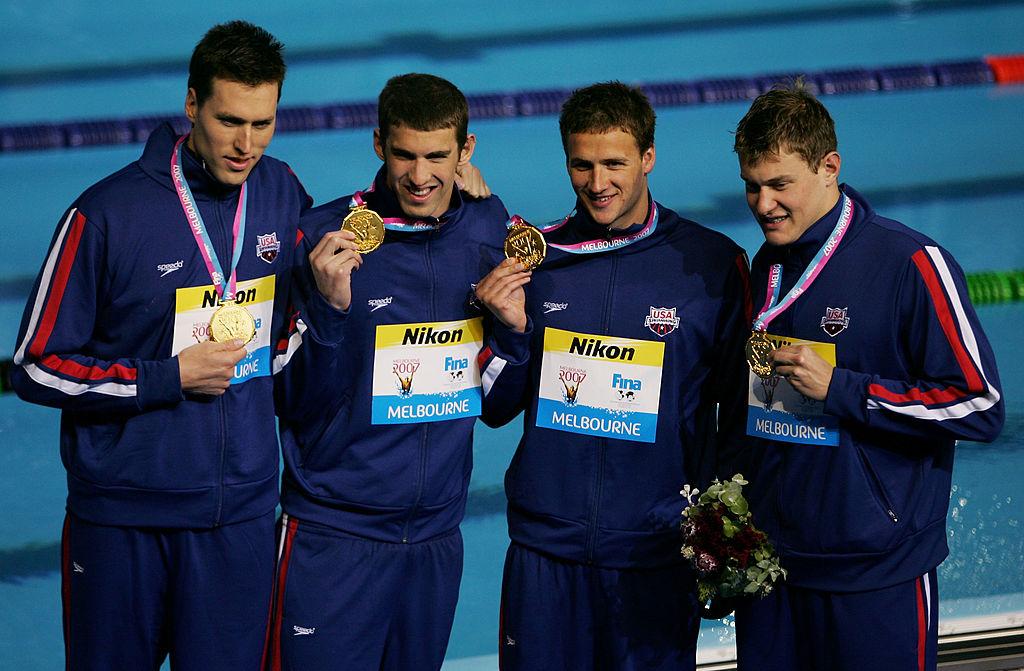Klete Keller, multimedallista olímpico junto a Michael ...