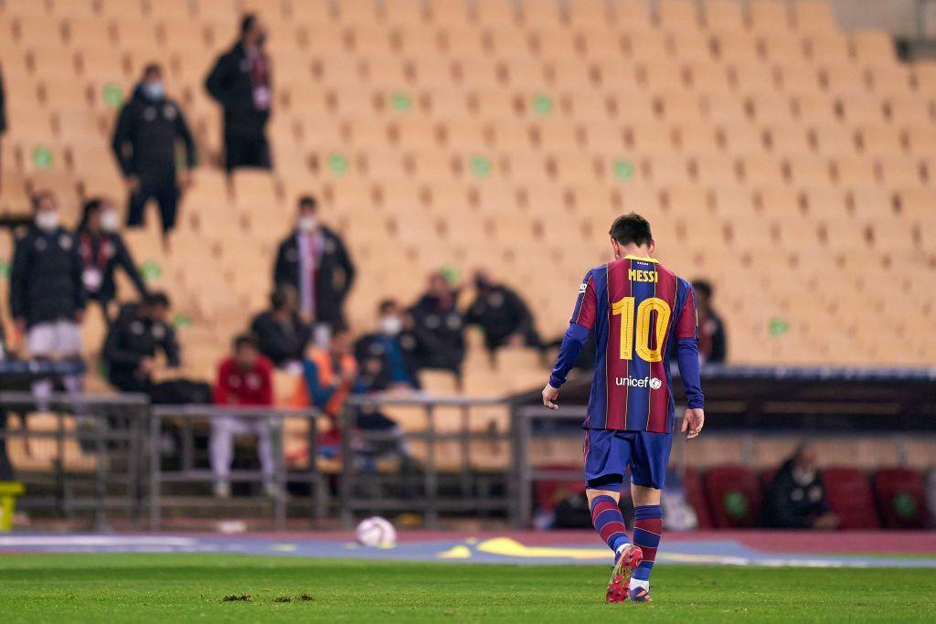 Messi expulsión con Barcelona