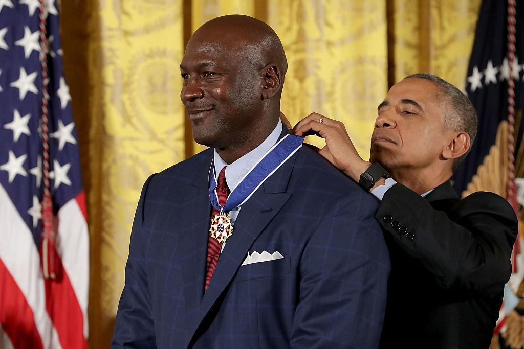 Michael Jordan Medalla Presidencial de la Libertad