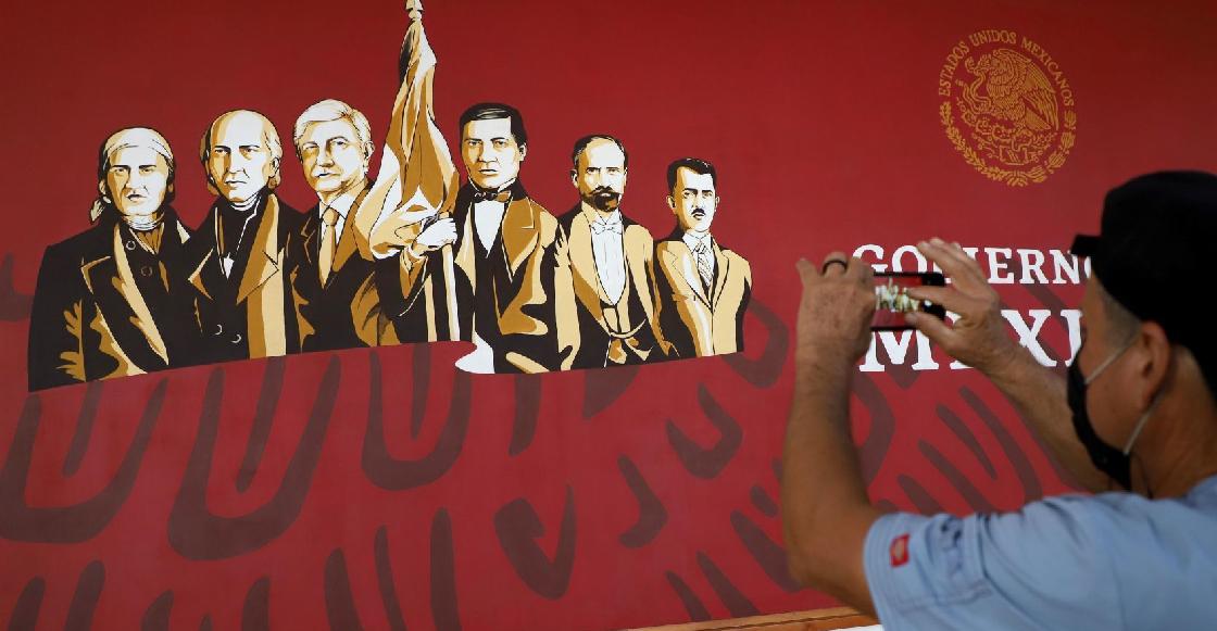 """""""Es un héroe"""": Alcalde de Culiacán descarta retirar mural donde incluyó a AMLO pese a críticas"""