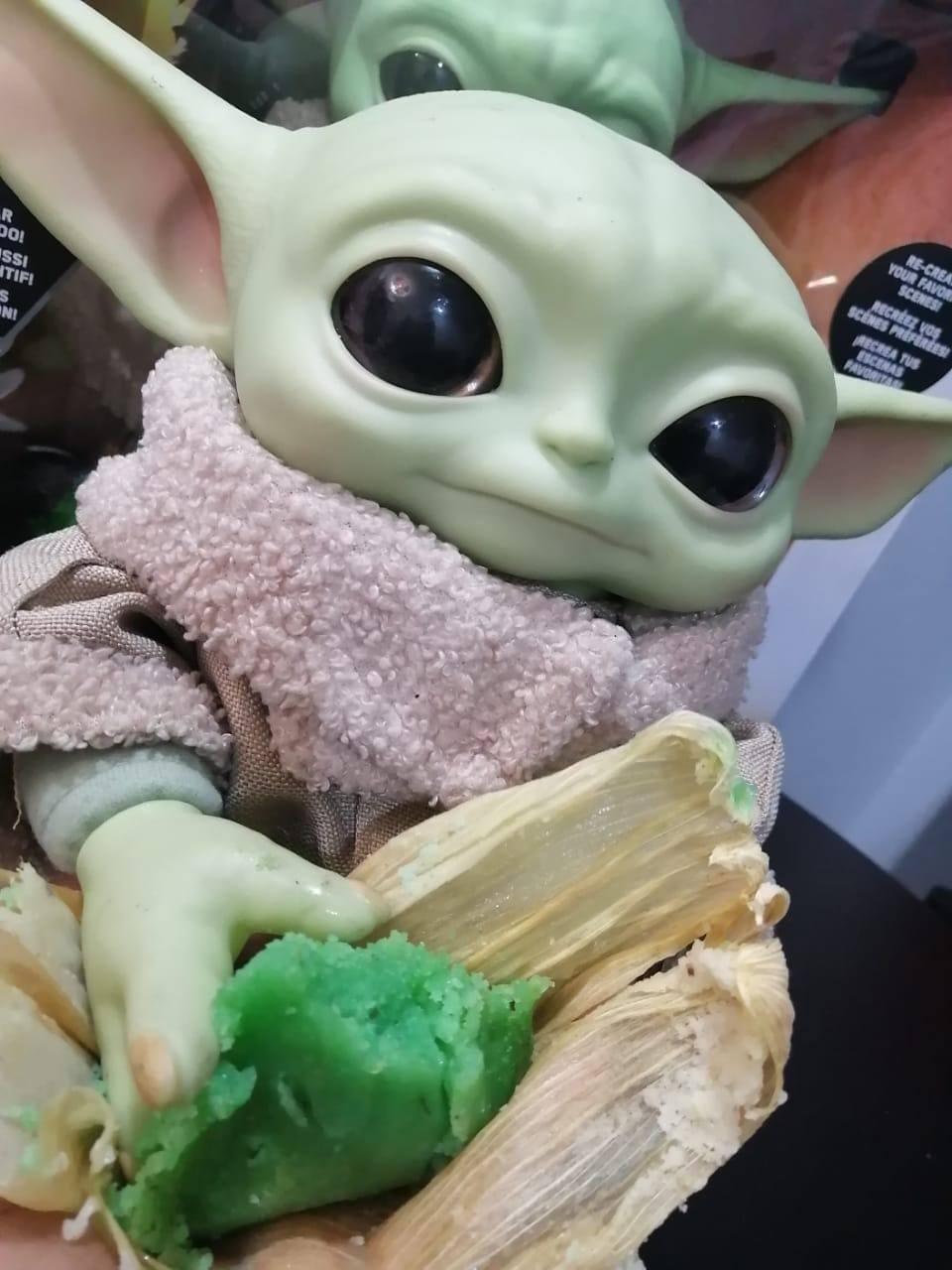 ¿The Tamalorian? Llegaron los tamales de Baby Yoda y acá les decimos dónde conseguirlos
