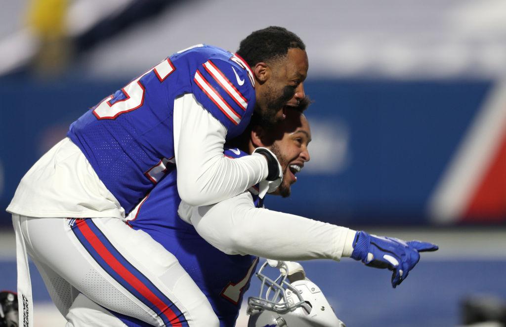 ¡Wow! La épica celebración de un aficionado de los Bills que venció el cáncer