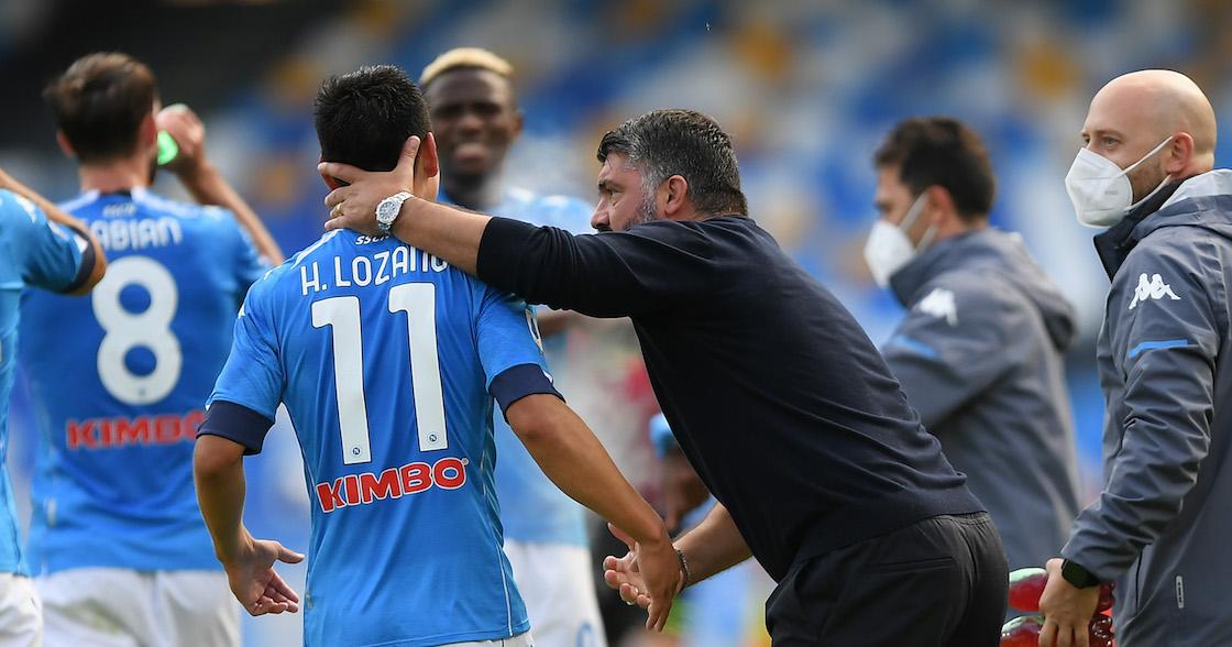 ¿En qué momento mejoró la relación entre 'Chucky' Lozano y Gattuso?