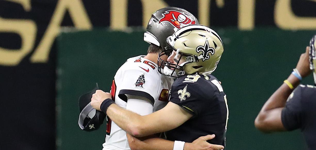 ¡Tom Brady vs Drew Brees! Asi quedaron los juegos divisionales de la NFL