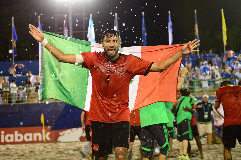 Francisco Cati futbol playa
