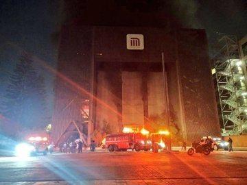Incendio en edificio del Metro deja una persona muerta y varias líneas sin servicio