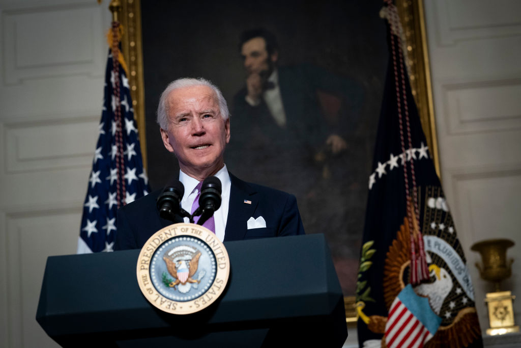 Biden bans weapons attacks on the United States