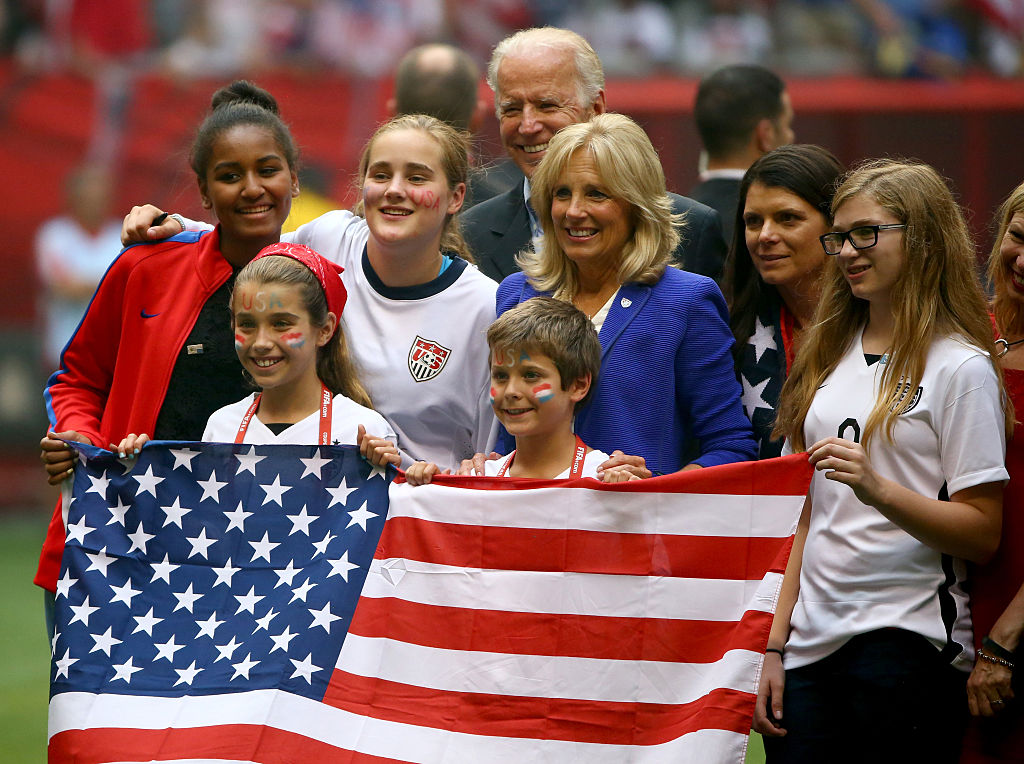 Joe Biden y la estrecha relación que mantiene con el deporte femenil