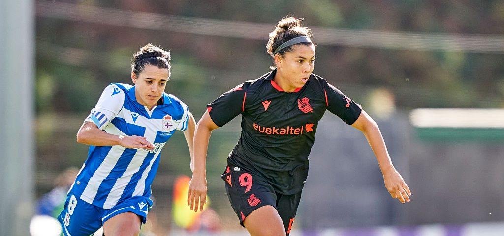 ¡Mexican power! Kiana Palacios anotó por primera vez en la temporada con la Real Sociedad