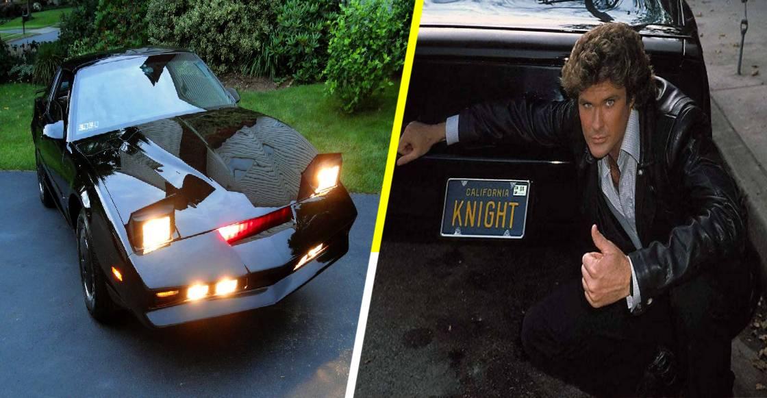 ¡A romper el cochinito! Kitt, el 'auto increíble' ahora puede ser tuyo en subasta