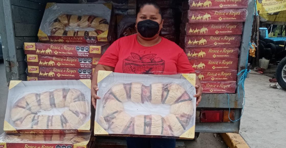 La polémica en redes por una mujer que compró 300 roscas para revenderlas