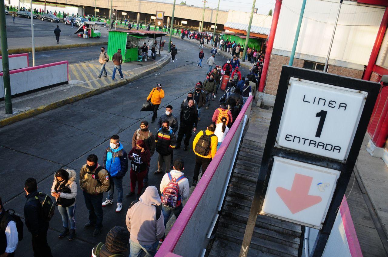 Realizan pruebas en Línea 1 del Metro para reanudar servicio el 25 de enero
