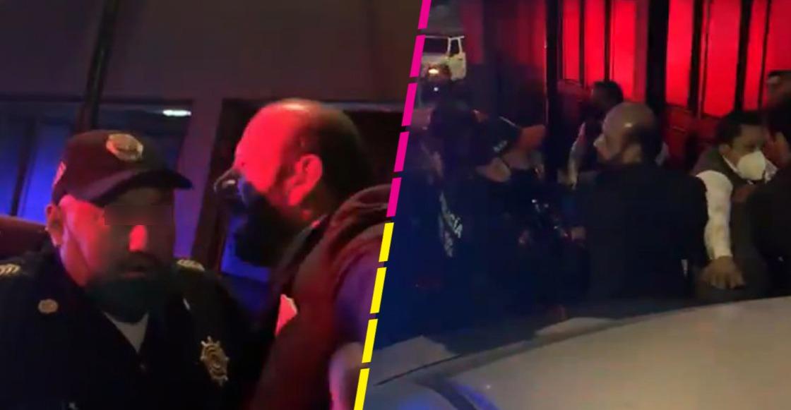 """""""Valen más mis zapatos que tu coche"""": Hombre insulta a policías de CDMX y surge #LordMisZapatos"""