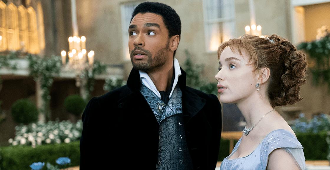 Hay tiro: Netflix está peleando contra sitios de nopor por... escenas de 'Bridgerton'