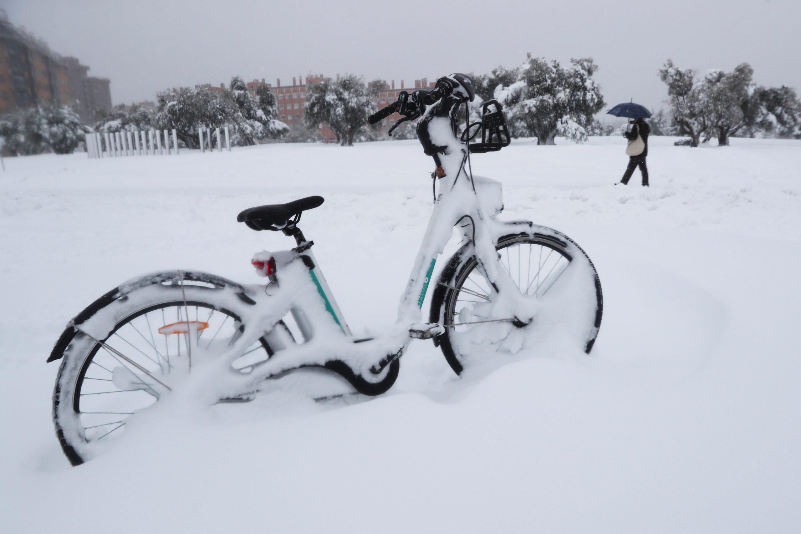 La histórica nevada en España por el paso de 'Filomena'