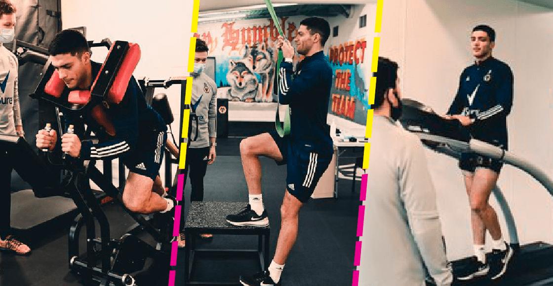 En Imágenes: Raúl Jiménez está de regreso en el gimnasio del Wolverhampton