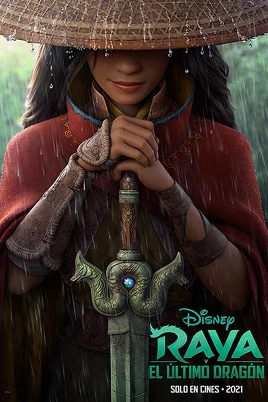 Disney libera el tráiler oficial y la fecha de estreno de 'Raya and The Last Dragon'