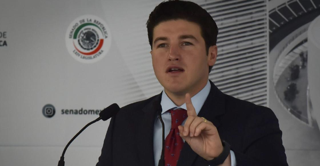 Samuel García recibe constancia para ser candidato a la gubernatura de NL