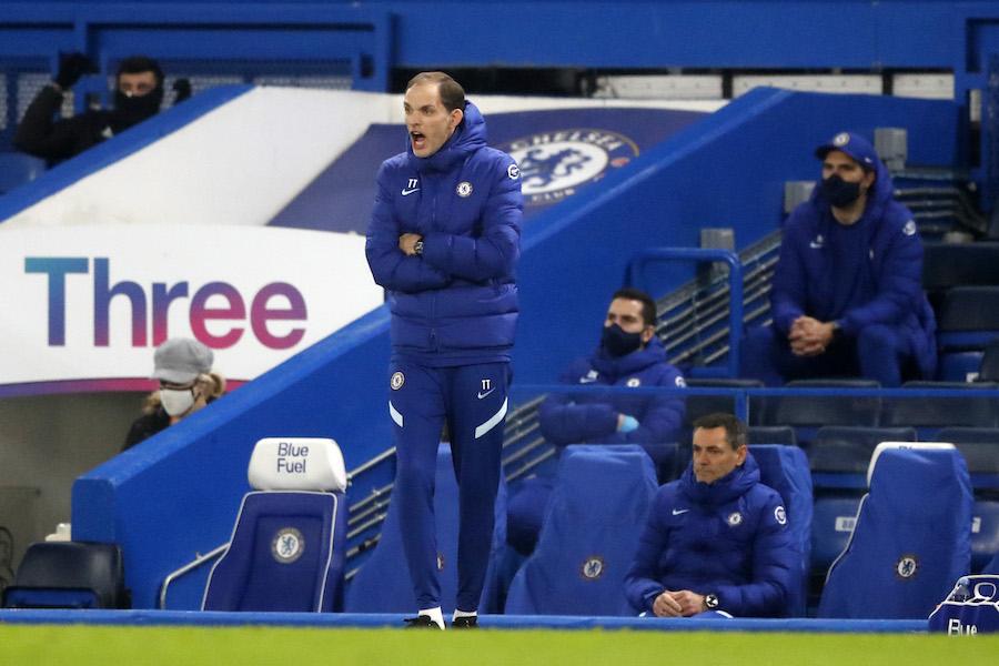 Así le fue a Thomas Tuchel en su presentación como DT del Chelsea, ante Wolverhampton