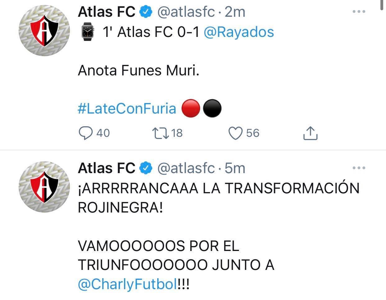 Transformación rojinegra Liga MX