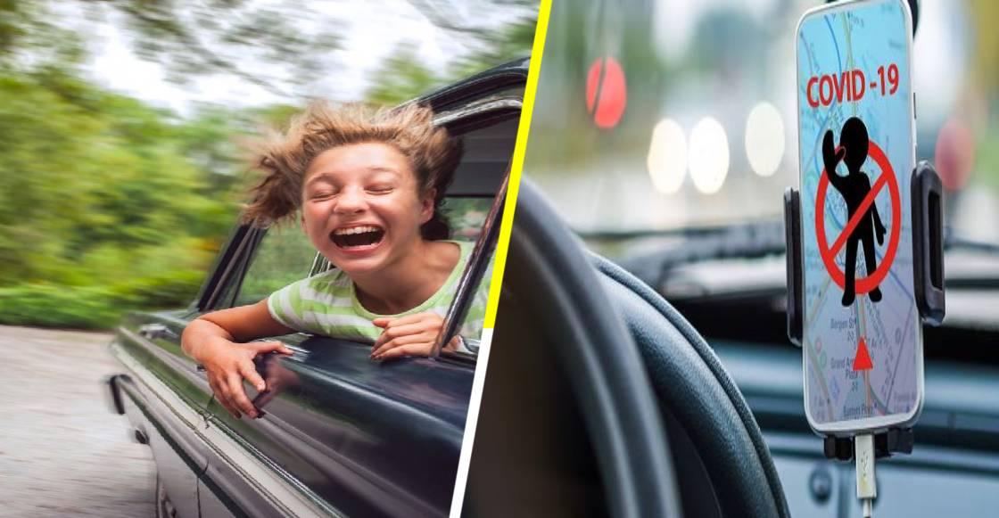 Científicamente, estas son las mejores ventanas para abrir durante los viajes en coche