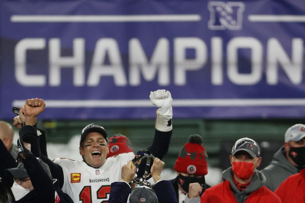Tom Brady NFC Champion