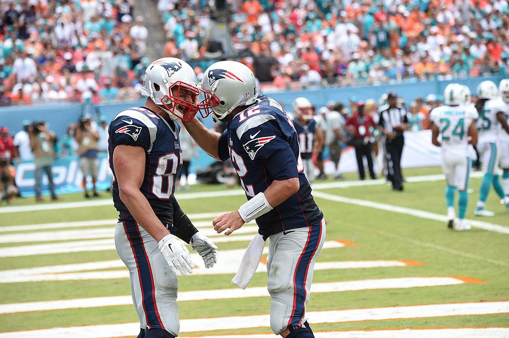Brady y Gronkowski imponen nuevo récord como la pareja con más touchdowns en los Super Bowls