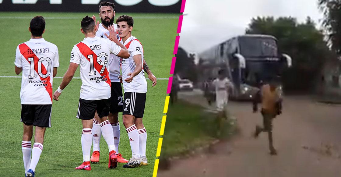 Club Defensores de Pronunciamiento despide a sus jugadores como héroes antes de enfrentar a River Plate