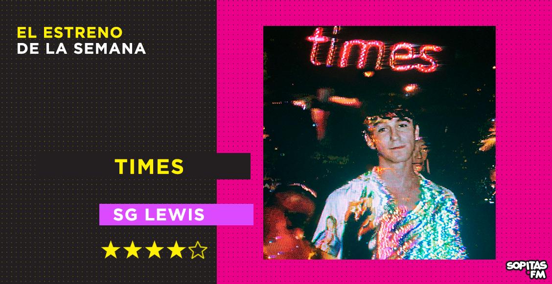 'Times': SG Lewis arma una gran fiesta con muchos invitados en su disco debut