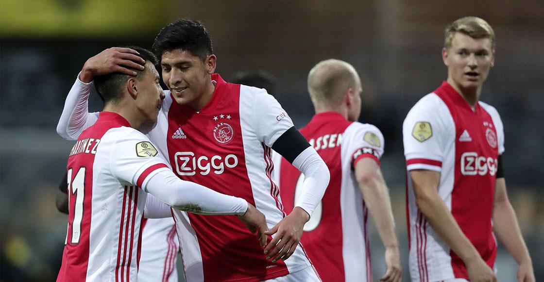 Edson Álvarez y el Ajax avanzaron en la Europa League