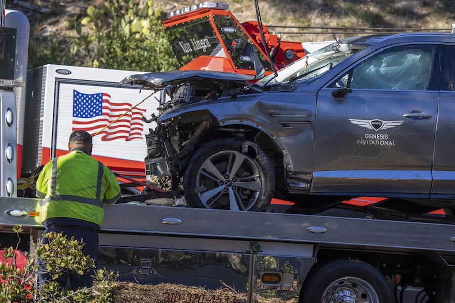 El testimonio del bombero practicante que rescató a Tiger Woods tras accidente