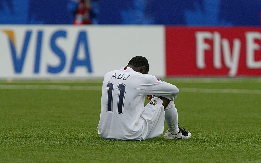 Freddy Adu con la selección de Estados Unidos y considerado el nuevo Pele