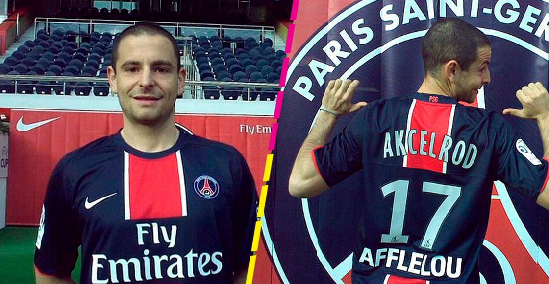 Gregoire Akcelrod falso jugador del PSG