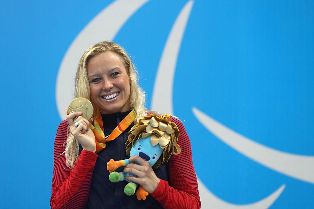 Jessica Long gana medalla de oro en los Juegos Paralímpicos de Rí 2016