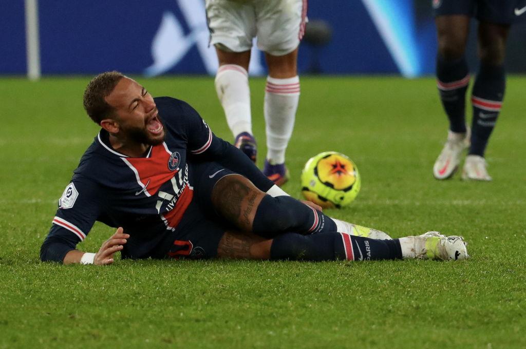 Neymar lesión con PSG se perderá Champions League