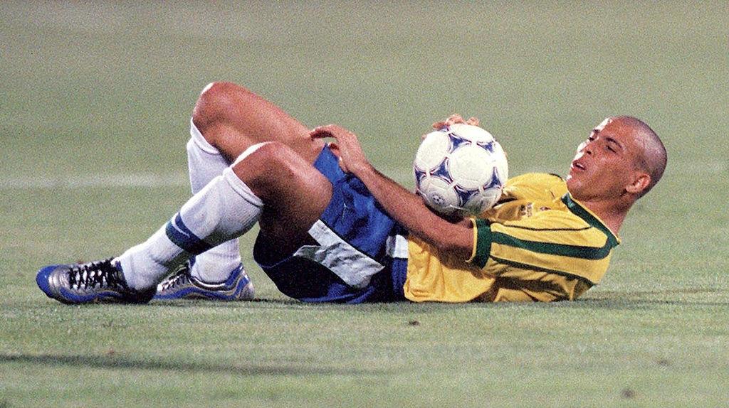 Ronaldo en el Mundial Francia 1998