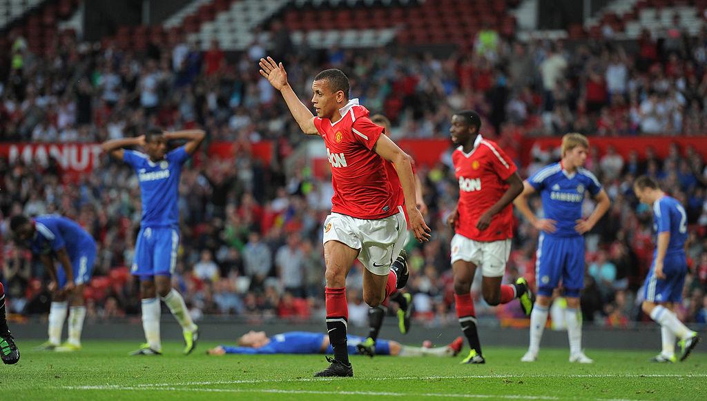 Ravel Morrison con el Manchester United