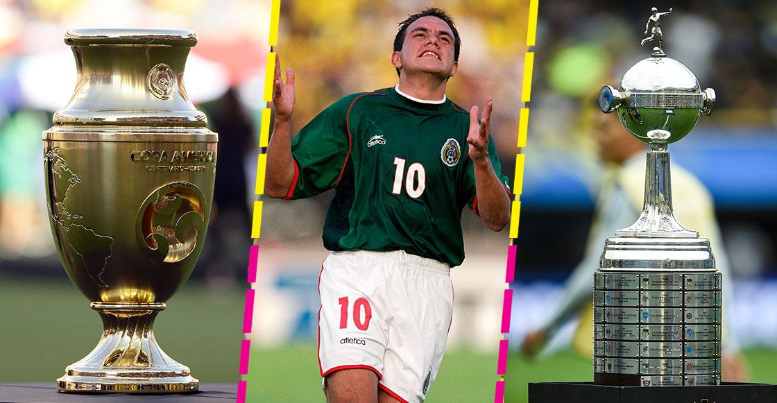 Conmebol abre las puertas a México para sus torneos