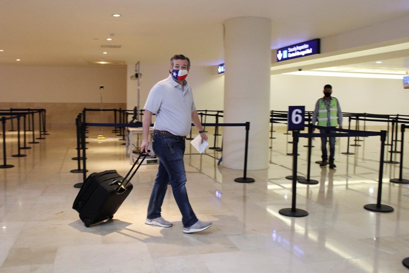 Ted cruz viaje a cancun