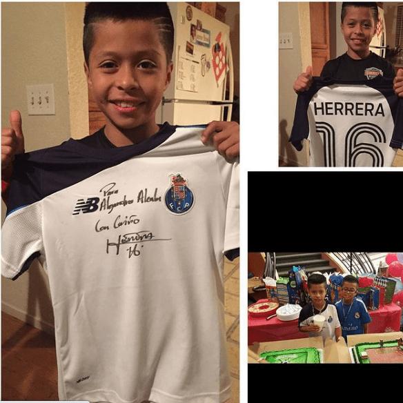 Alex Alcalá, el mexicano galáctico de 15 años que es fan de Messi y Héctor Herrera