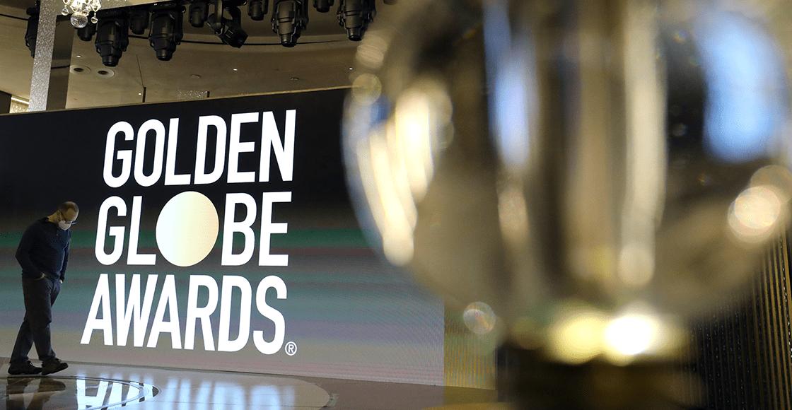 Con alfombra roja atípica: Así arrancaron los Golden Globes 2021
