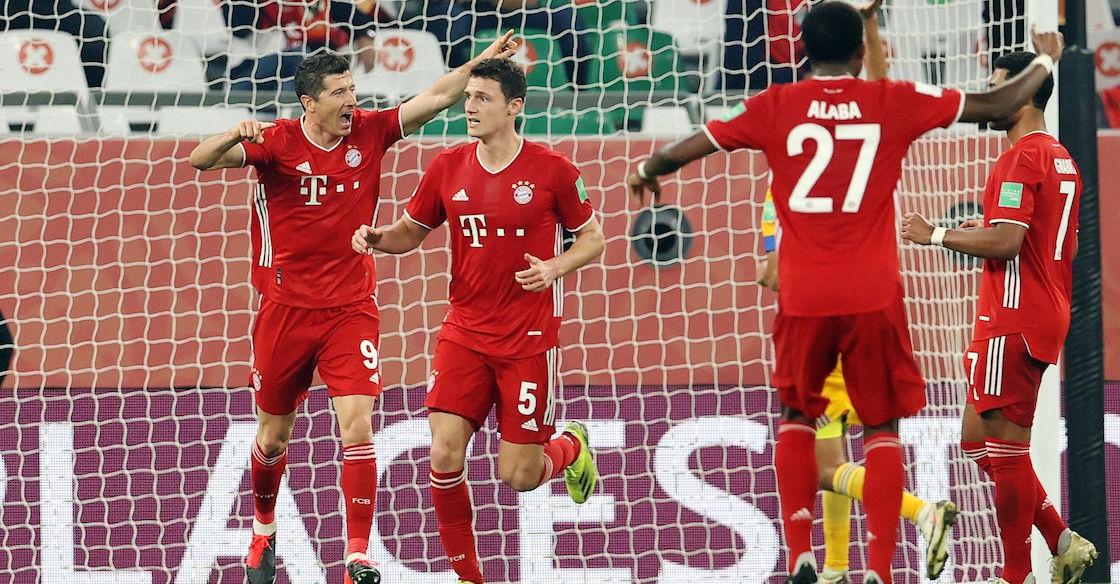 Benjamin Pavard hizo el gol para el Bayern Munich