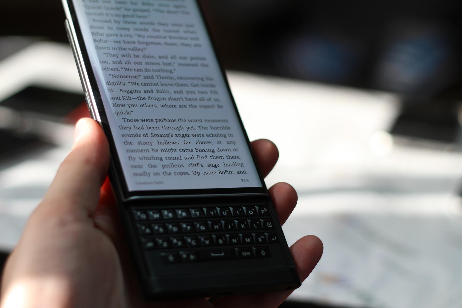 ¡Blackberry regresará este año con teléfonos 5G y su distintivo teclado!
