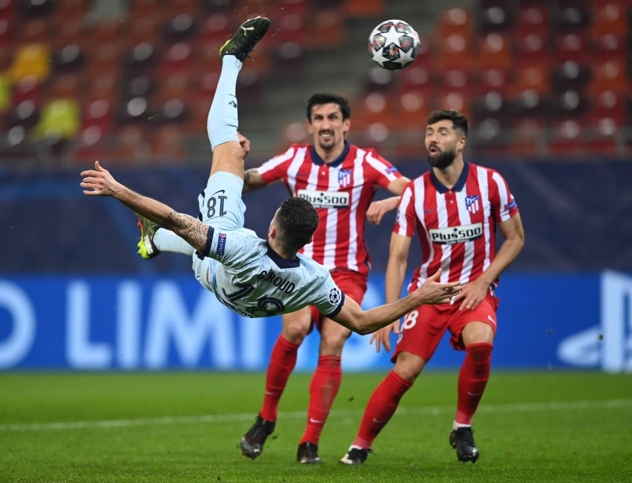 Chilena de Giroud para vencer al Atleti: Los goles que nos dejó la Champions League