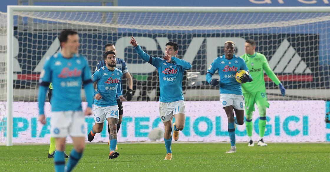'Chucky' Lozano reencuentra el gol con Napoli