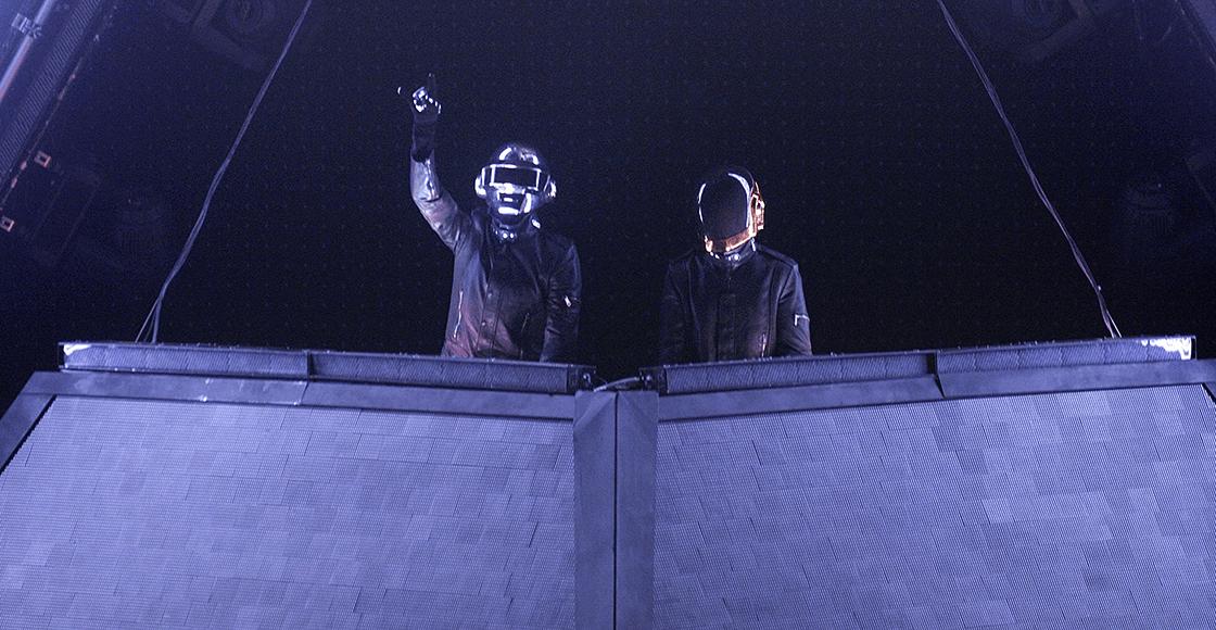 ¡Épico! Así fue la primera y última vez que Daft Punk vino a México
