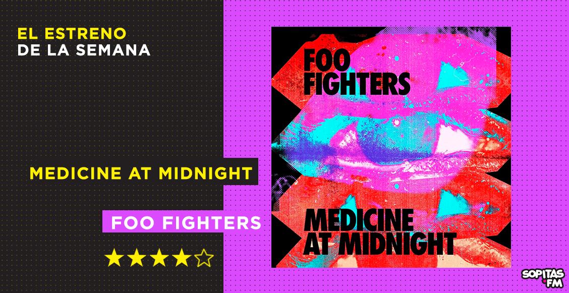 'Medicine at Midnight': El décimo disco de Foo Fighters y su antídoto a la pandemia