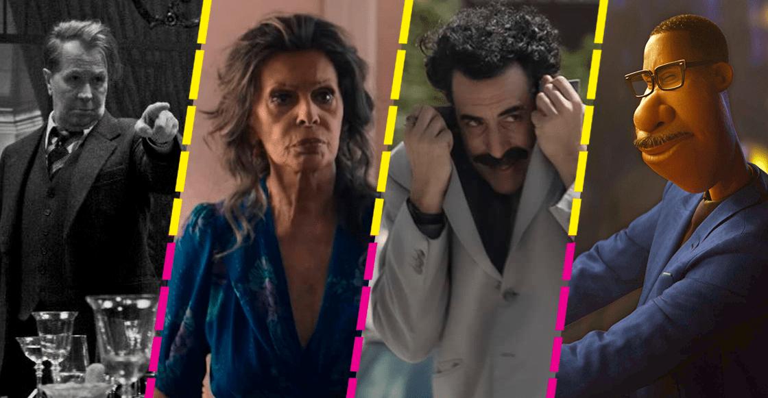 Aquí puedes ver algunas de las películas nominadas a los Golden Globes 2021